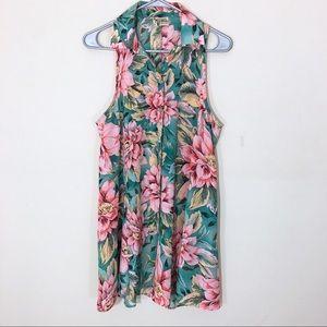 Show Me Your Mumu Sleeveless Floral Dress Medium